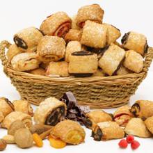 Rugelach (1 lb, 16 pcs/lb) - Baked Fresh Per Order - Cinnamon Walnut, Apricot, Raspberry, Chocolate