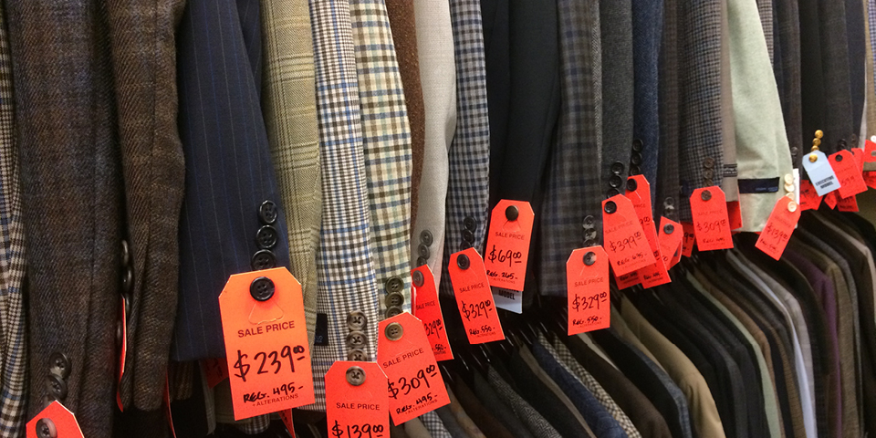 The Foursome Backroom: A room full of bargains