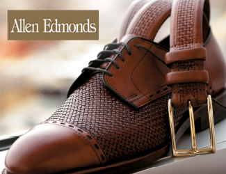 View our selection of dress and casual shoes by Allen Edmonds.