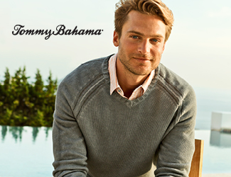 View our selection of clothing by Tommy Bahama.