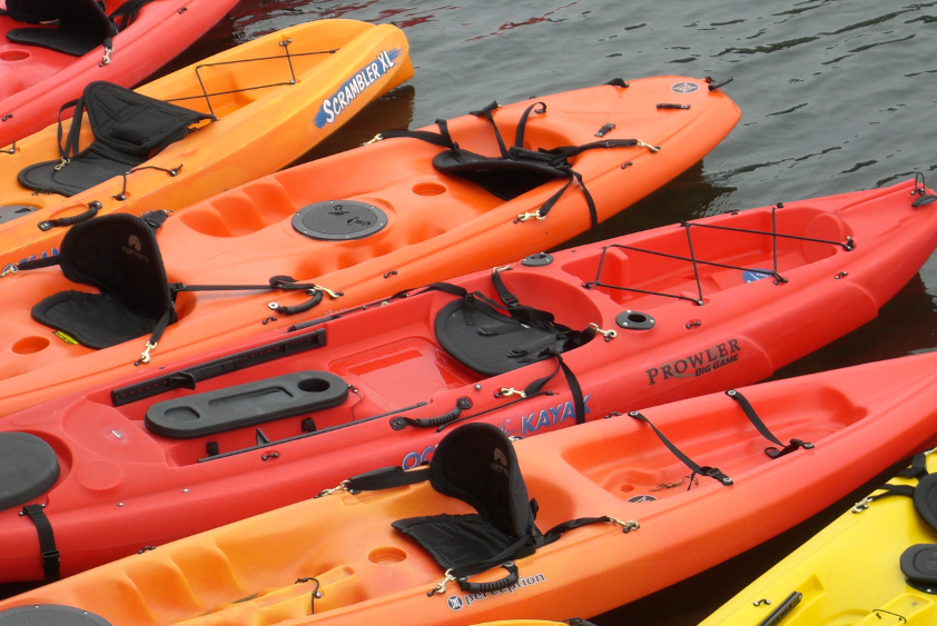 Kayaks on sale