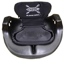 Paddle Saddle with Low Backrest