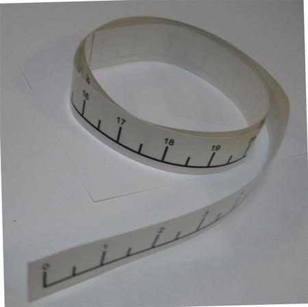 Tape measure decal kayak fising tape measure paddlerscove for Fish measuring tape