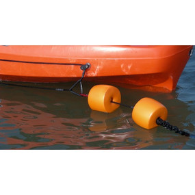 Kayak fishing anchor floats