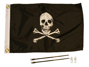 Jolly Roger Flag Kit, 12'' x 18''