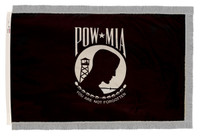 POW-MIA (Single Seal) - Indoor Flags