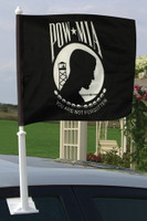 POW-MIA Auto Window Flag