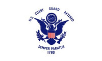 Coast Guard Retirement Flags