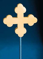 Flag Pole Botonee Crosses - Aluminum