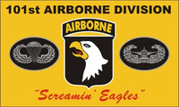101st Airborne (Screaming Eagles) Military Flags