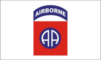 82nd Airborne (AA) Military Flags