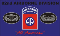 82nd Airborne (All American) Military Flags