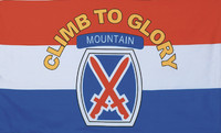 10th Mountain Division Military Flags