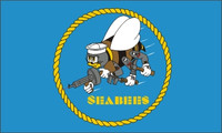 Seabees Military Flags