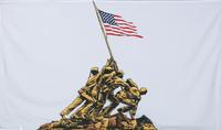 Iwo Jima Military Flags