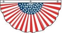 Pleated Americana Fan