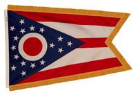 State Flag Sets, Nylon - Pole Hem and Fringe