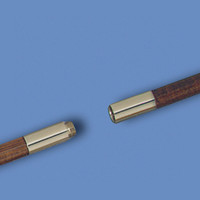 Brass Screw Joint for Wood Poles