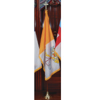 Deluxe Papal Nylon Sets with Oak Poles