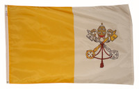Vatican City (Papal) Nylon Outdoor Flags