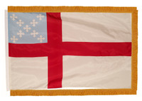 Episcopal Nylon Indoor Flags with Pole Hem and Fringe