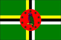 Dominica (UN OAS) Outdoor Flags