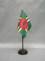 Dominica (UN OAS) Stick Flags