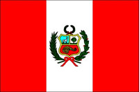 Peru (with Seal) (UN OAS) Outdoor Flags