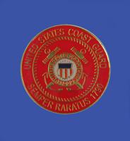 Coast Guard Emblem Lapel Pin