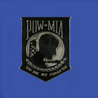 POW-MIA Shield Lapel Pin