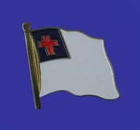 Christian Single Flag Lapel Pin