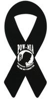 "8"" POW/MIA Ribbon Magnet"
