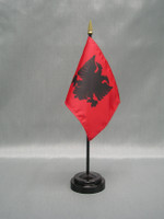Albania (UN)  - Stick Flags