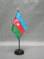 Azerbaijan (UN)  - Stick Flags
