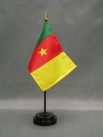 Cameroon (UN)  - Stick Flags