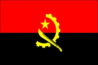 Angola (UN) - Indoor Flags