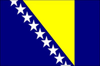 Bosnia-Herzegovina (UN) - Indoor Flags