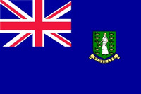 British Virgin Islands - Indoor Flags
