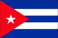 Cuba (UN OAS) - Indoor Flags