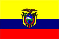 Ecuador with Seal (UN OAS) - Indoor Flags