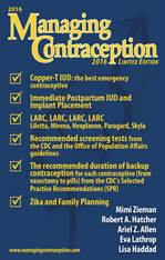 Managing Contraception 2016 Limited Edition - Digital Download