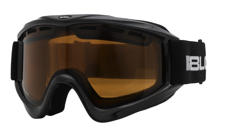 Bloc Phantom Ski Goggles with Black Frame and Vermillion Lens ...
