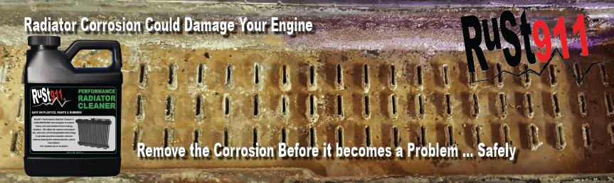 Rust911 Radiator flush and cleaner