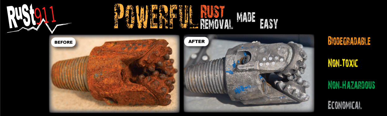 rust911 rusted drill bits