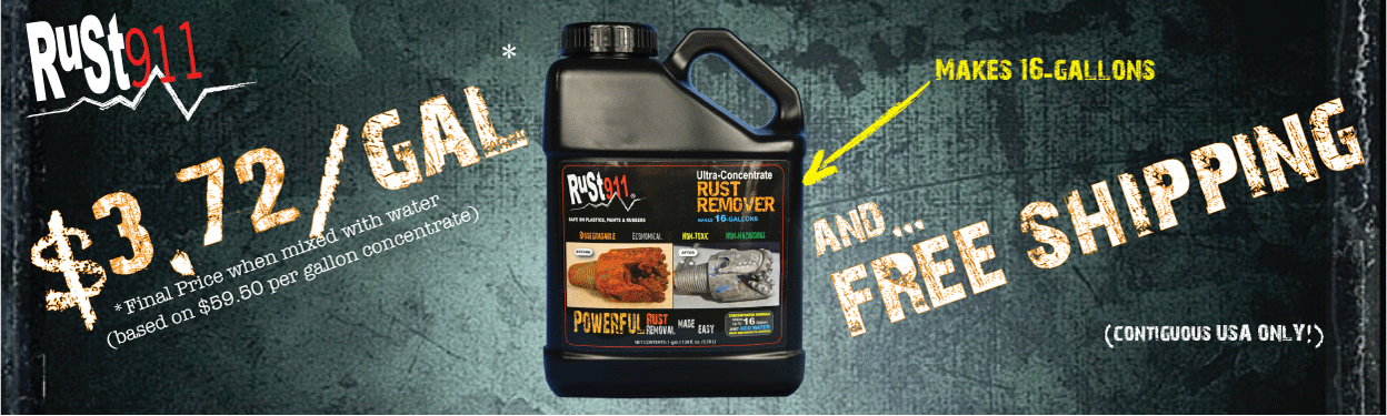 Best Review rust remover