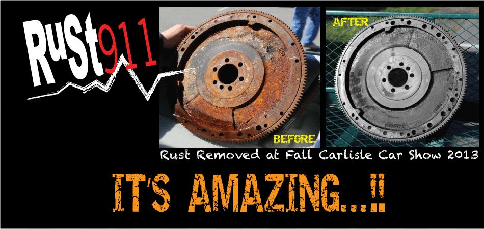 rust911 rust remover amazing