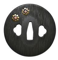 Katana Tsuba - Marugata Kuyoumon