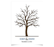 Wedding Tree - Colored Names