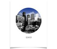 Denver Circle Skyline