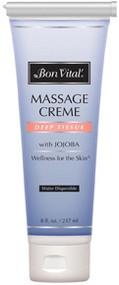 Bon Vital' Deep Tissue Massage Cream - 8oz